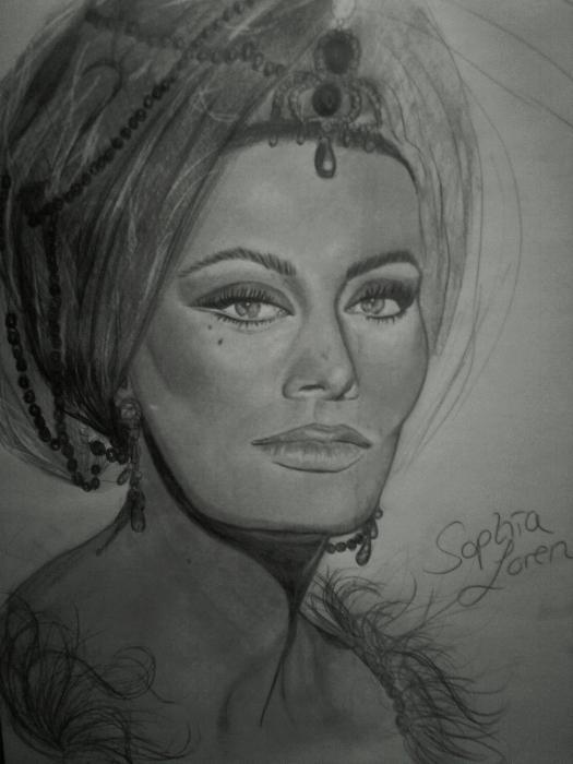 Sophia Loren por BillieJean
